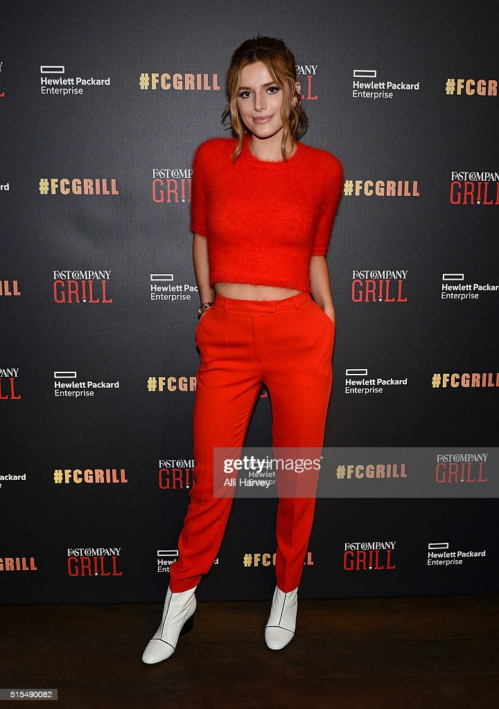 The Fast Company Grill In Austin: Bella Thorne, Kian Lawley, Keegan-Michael Kay, Gillian Jacobs
