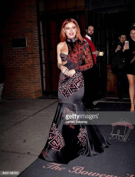Bella Thorne seen on the streets of Manhattan on September 9 2017 in New York City