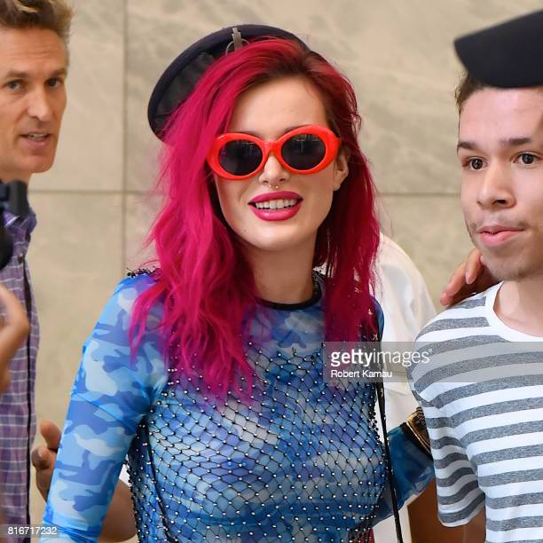Bella Thorne seen out in Manhattan on July 17 2017 in New York City