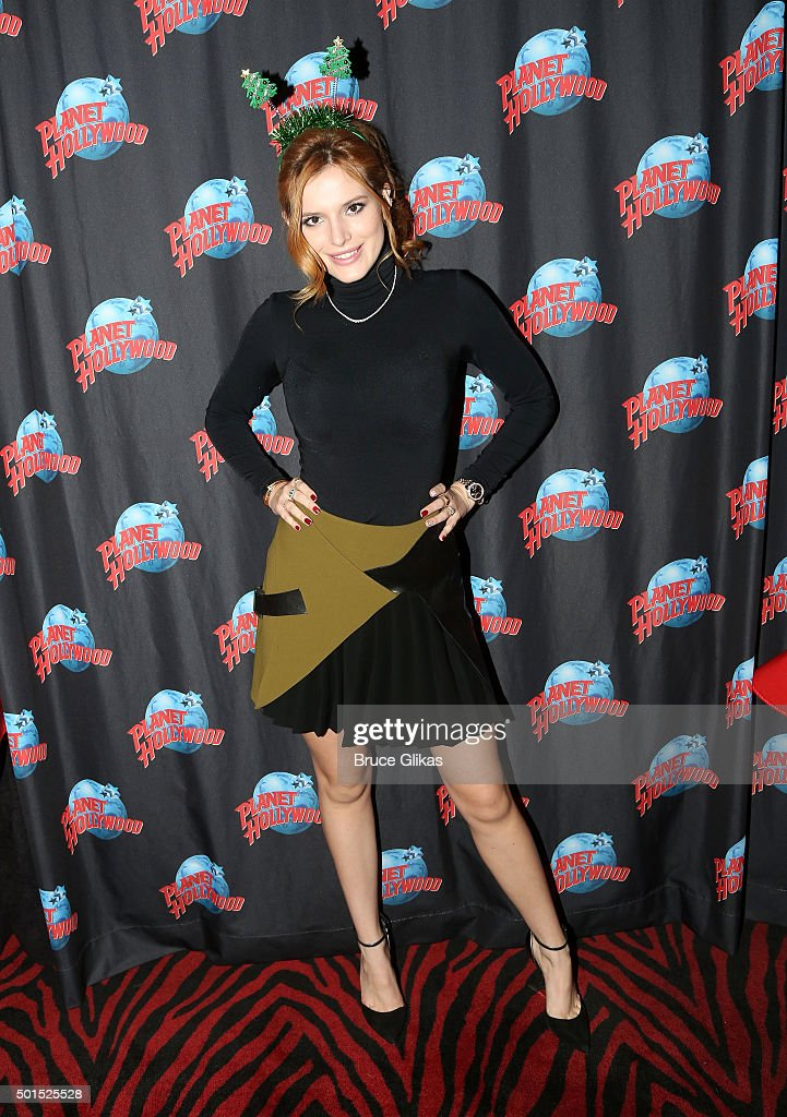 Bella Thorne & The Garden Of Dreams Visits Planet Hollywood Times Square