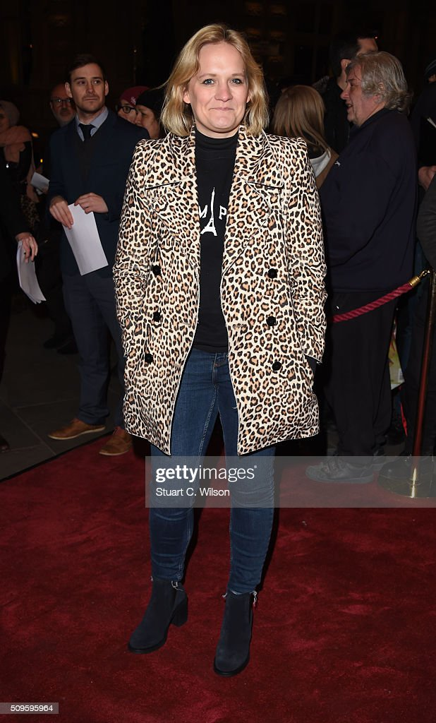 Bella Younger attends the World Premiere of 'End Of Longing', written by and starring Matthew Perry at Playhouse Theatre on February 11, 2016 in London, England.