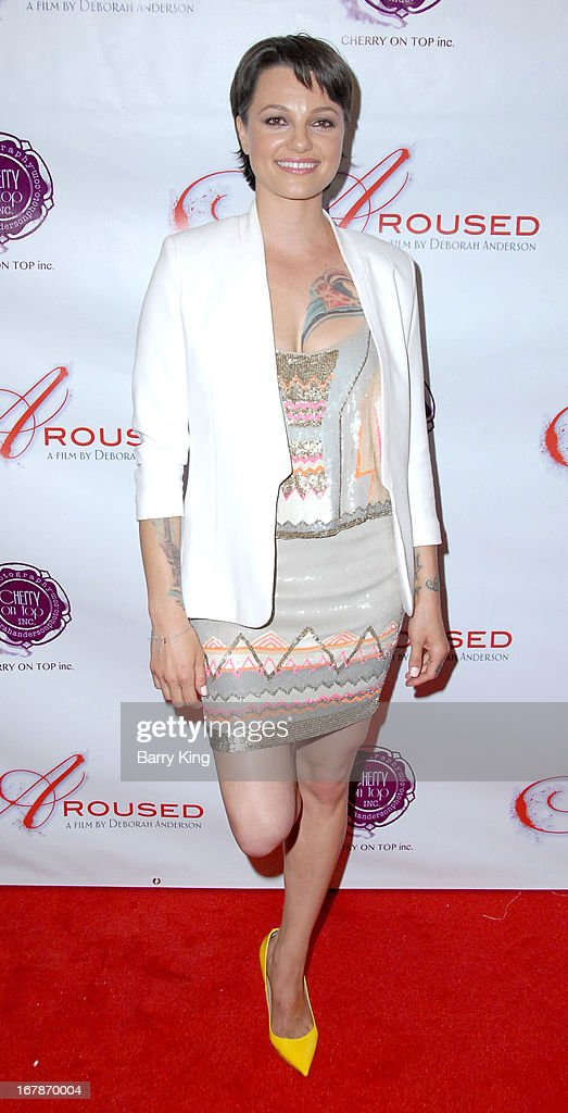 Belladonna attends the 'Aroused' - Los Angeles Premiere on May 1, 2013 at the Landmark Nuart Theatre in Los Angeles, California.