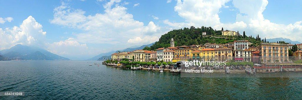Bellagio Italy Panorama : Stock Photo