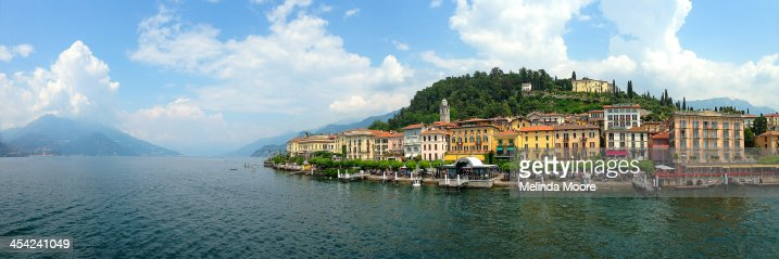 Bellagio Italy Panorama : Stock Photo