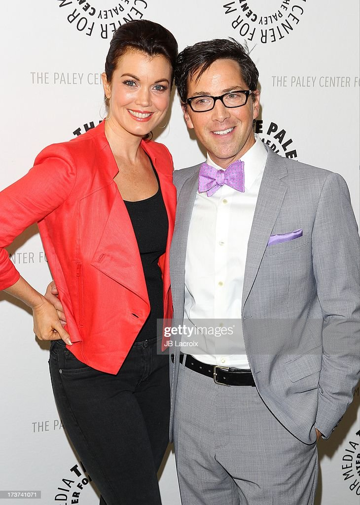 Bellamy Young and Dan Bucatinsky attend 'An Evening With Web Therapy: The Craze Continues...' held at The Paley Center for Media on July 16, 2013 in Beverly Hills, California.