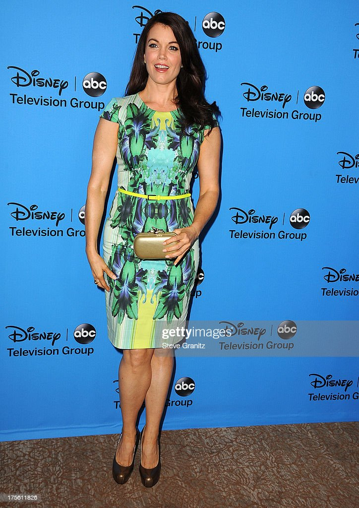 Bellamy Young arrives at the 2013 Television Critics Association's Summer Press Tour - Disney/ABC Party at The Beverly Hilton Hotel on August 4, 2013 in Beverly Hills, California.
