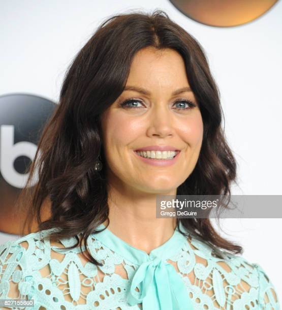 Bellamy Young arrives at the 2017 Summer TCA Tour Disney ABC Television Group at The Beverly Hilton Hotel on August 6 2017 in Beverly Hills California