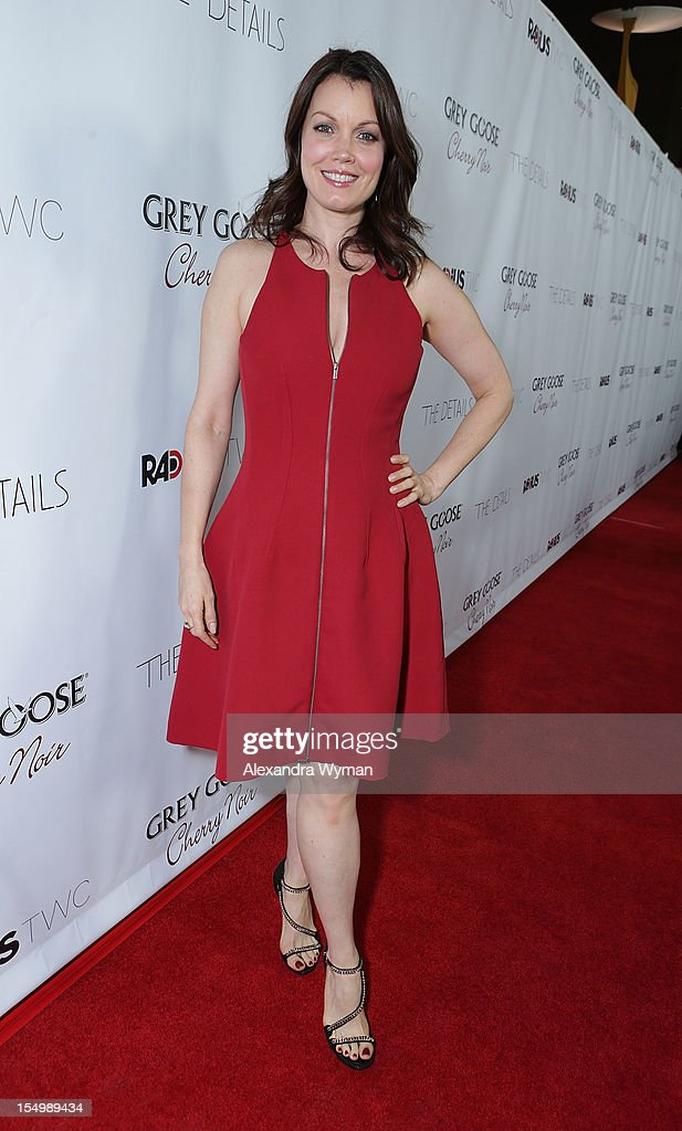 Bellamy Young at RADiUS-TWC 'he Details' Premiere hosted by GREY GOOSE Vodka held at The ArcLight Cinemas on October 29, 2012 in Hollywood, California.