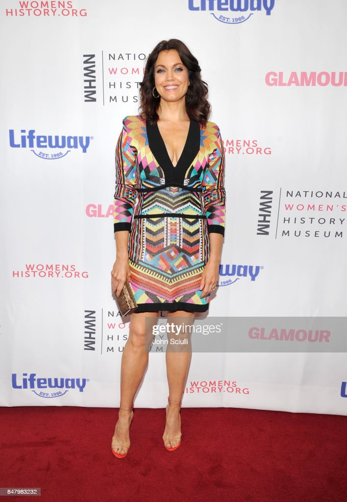 Bellamy Young at the Women Making History Awards at The Beverly Hilton Hotel on September 16, 2017 in Beverly Hills, California.