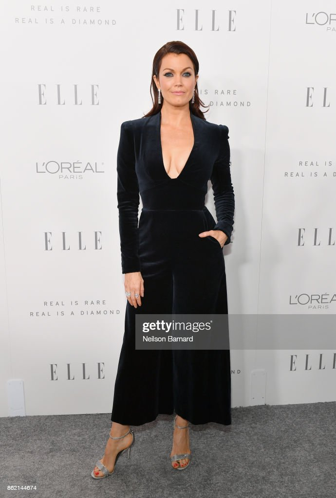 Bellamy Young attends ELLE's 24th Annual Women in Hollywood Celebration presented by L'Oreal Paris, Real Is Rare, Real Is A Diamond and CALVIN KLEIN at Four Seasons Hotel Los Angeles at Beverly Hills on October 16, 2017 in Los Angeles, California.