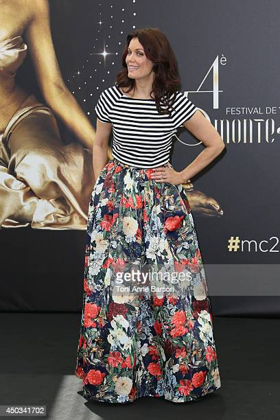 Bellamy Young attends 'Scandal' photocall at the Grimaldi Forum on June 9 2014 in MonteCarlo Monaco