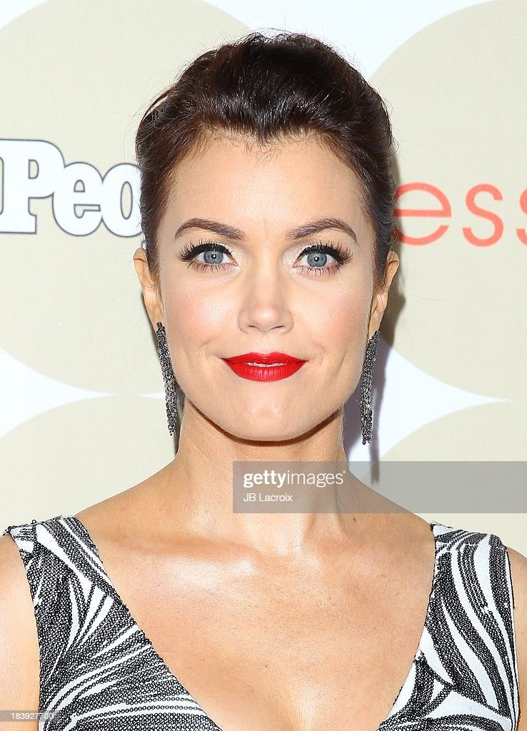 Bellamy Young attends the People's One To Watch Event held at Hinoki & The Bird on October 9, 2013 in Los Angeles, California.