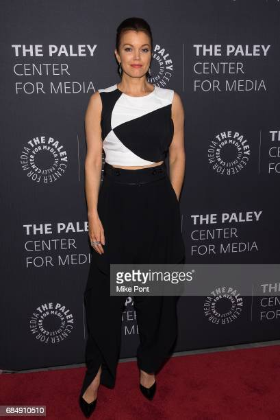 Bellamy Young attends The Ultimate 'Scandal' Watch Party at The Paley Center for Media on May 18 2017 in New York City