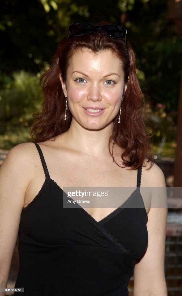 Bellamy Young during Charles Worthington Golden Globes Suite - Day Three at Private Residence in West Hollywood, California, United States.