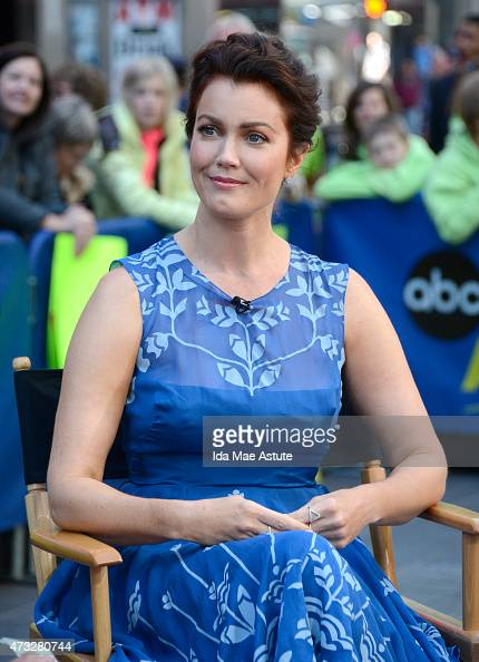 AMERICA Bellamy Young from 'Scandal' appears on GOOD MORNING AMERICA 5/14/15 airing on the ABC Television Network BELLAMY