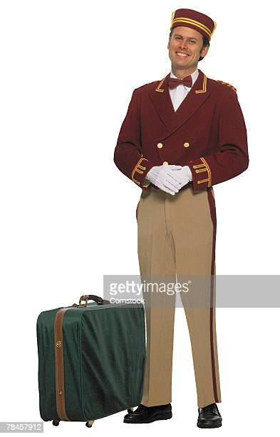 Bellboy with luggage