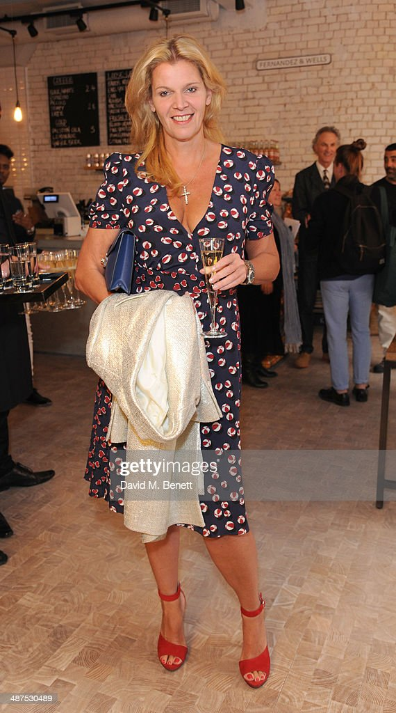 Belle Robinson attends the new concept store 'The Duke Street Emporium' launched by The Jigsaw Group on April 30, 2014 in London, England.