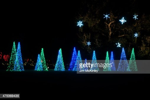 Bellingrath Gardens Christmas Lights Stock Photo Getty