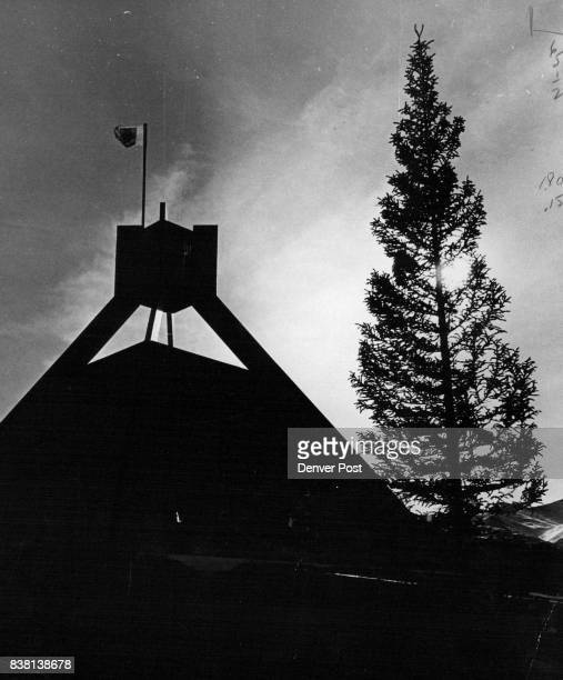 Belllringer at Breckenridge Sixstory belltower first building in the proposed Four Seasons Village at Breckenridge Colo will be dedicated Friday...