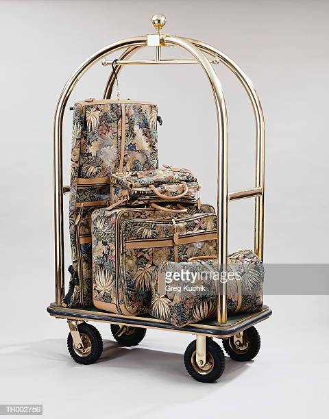 Bellmans Cart with Luggage