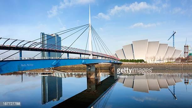 Bells Bridge Over The River Clyde, Glasgow