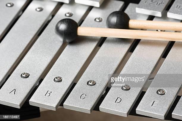 Bells (Xylophon) Schlüssel und Schlägern