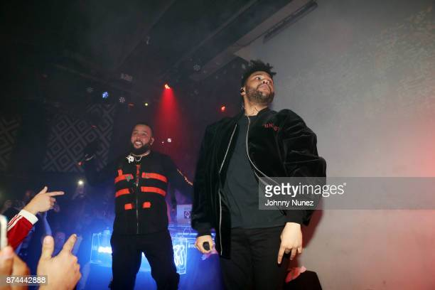 Belly and The Weeknd perform at SOB's on November 14 2017 in New York City