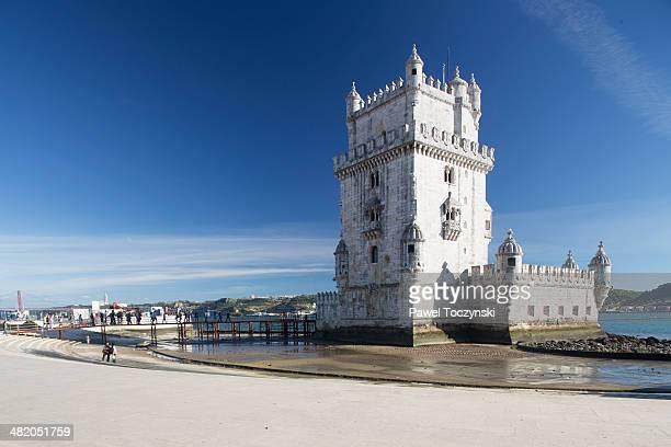 Belém Tower landmark, Lisbon, Portugal