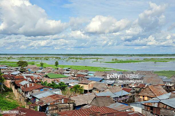 Bel?n Amazon community, homes on stilts, Iquitos