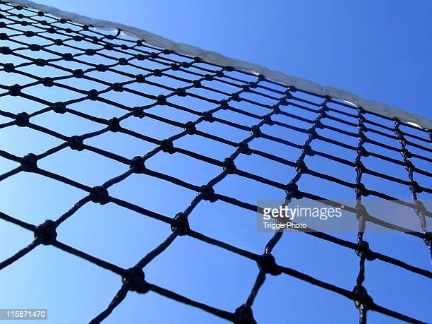 below the net