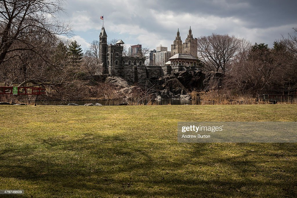 Belvedere Castle is seen in Central Park on March 20 2014 in New York United States Today marks the first official day of Spring the spring equinox...