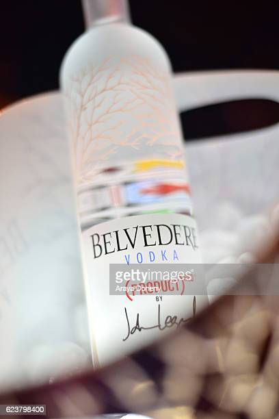 Belvedere Vodka at the John Legend performance at The Underground Museum for Belvedere DARKNESS AND LIGHT listening event on November 16 2016 in Los...