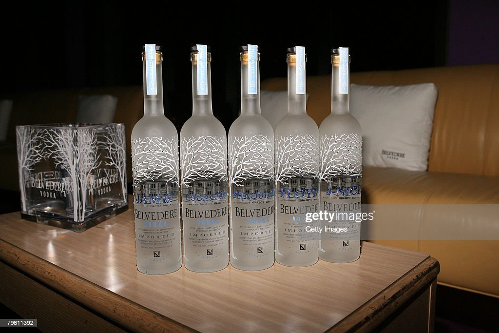 Belvedere Vodka hosts an AllStar Party at the 360 Club on February 16 2008 in in New Orleans Louisiana