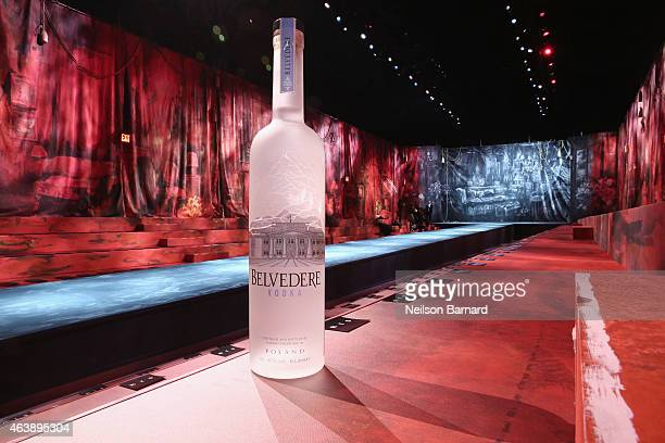 Belvedere Vodka partners with Marc Jacobs for the Marc Jacobs fashion show during MercedesBenz Fashion Week Fall 2015 at Park Avenue Armory on...