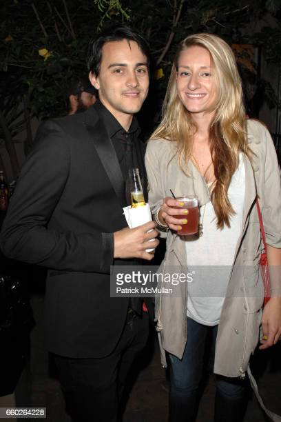 Ben Adams and Carly Funis attend Rose Apodaca and Andy Griffith Invite You To Meet George Esquivel at Esquivel House on June 18 2009 in Los Angeles...