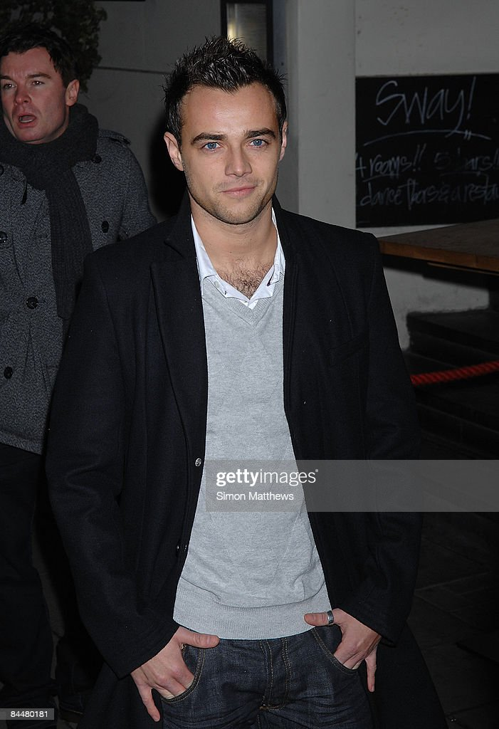 Ben Adams attends the Celebrity Big Brother wrap party on January 26, 2009 in London, England.