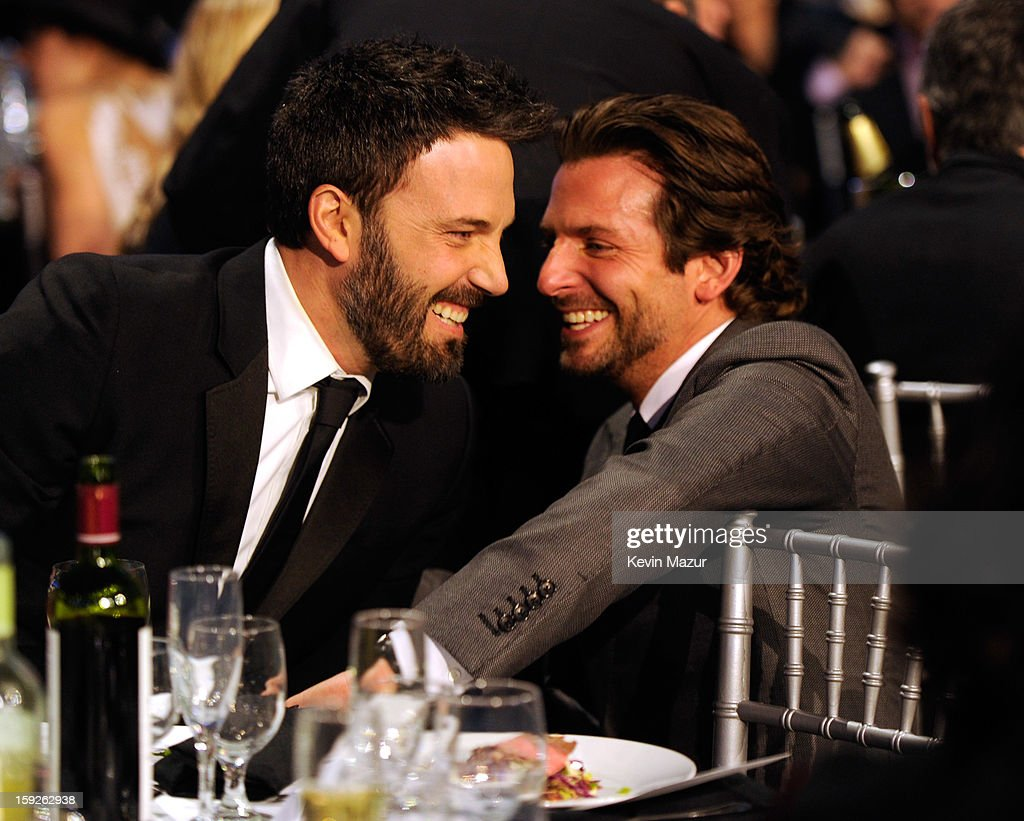 <a gi-track='captionPersonalityLinkClicked' href=/galleries/search?phrase=Ben+Affleck&family=editorial&specificpeople=201856 ng-click='$event.stopPropagation()'>Ben Affleck</a> and <a gi-track='captionPersonalityLinkClicked' href=/galleries/search?phrase=Bradley+Cooper&family=editorial&specificpeople=680224 ng-click='$event.stopPropagation()'>Bradley Cooper</a> during the 18th Annual Critics' Choice Movie Awards at The Barker Hanger on January 10, 2013 in Santa Monica, California.