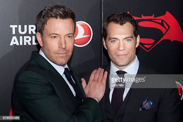 Ben Affleck and Henry Cavill attend the 'Batman V Superman Dawn Of Justice' New York Premiere at Radio City Music Hall in New York City �� LAN