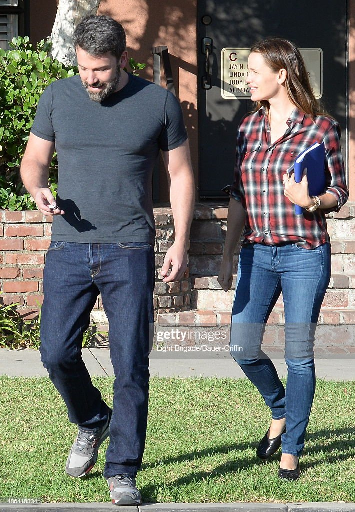 Ben Affleck and Jennifer Garner are seen in Santa Monica CA on September 03 2015 in Los Angeles CAlifornia