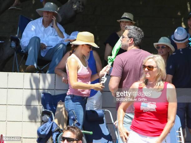 Ben Affleck and Jennifer Garner are seen on July 04 2017 in Los Angeles California