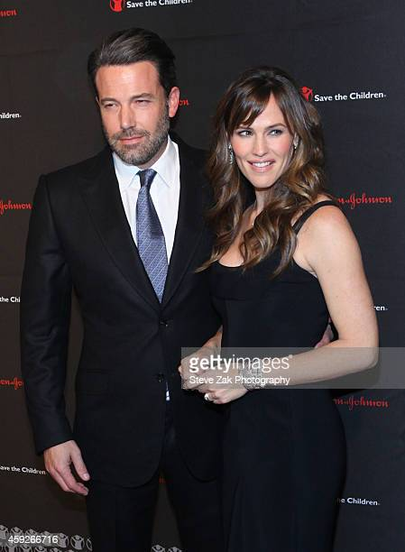 Ben Affleck and Jennifer Garner attend 2nd Annual Save the Children Illumination Gala at The Plaza Hotel on November 19 2014 in New York City