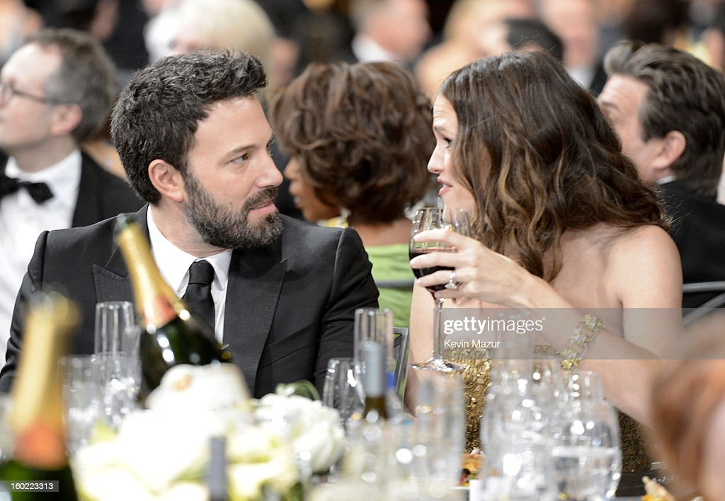 Ben Affleck and Jennifer Garner attend the 19th Annual Screen Actors Guild Awards at The Shrine Auditorium on January 27, 2013 in Los Angeles, California. (Photo by Kevin Mazur/WireImage) 23116_016_1207.jpg