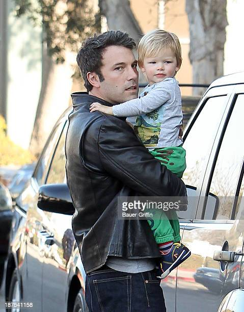 Ben Affleck and Samuel Affleck are seen on November 09 2013 in Los Angeles California