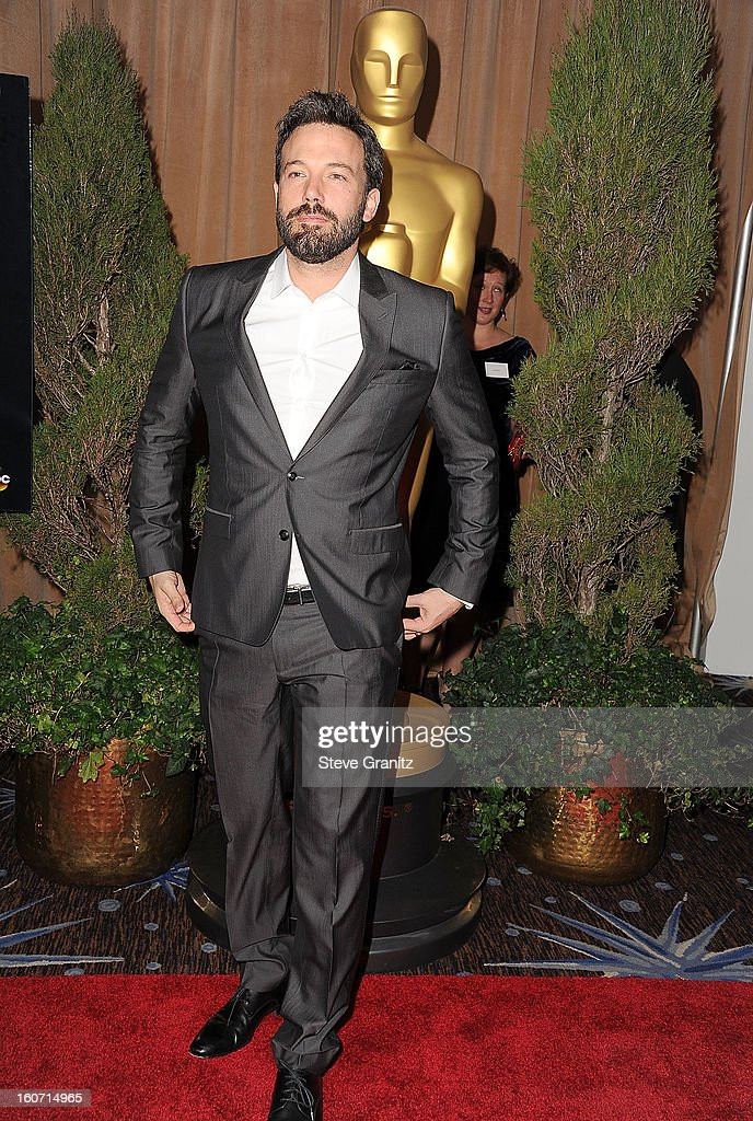 Ben Affleck arrives at the 85th Academy Awards - Nominees Luncheon at The Beverly Hilton Hotel on February 4, 2013 in Beverly Hills, California.