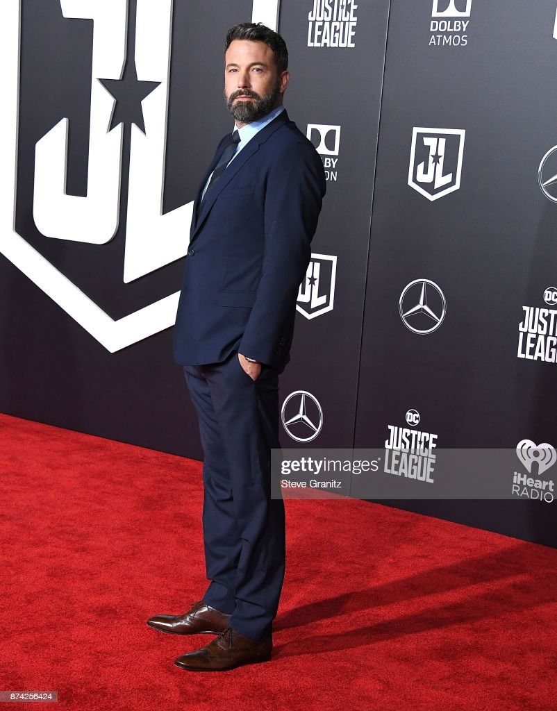 Ben Affleck arrives at the Premiere Of Warner Bros. Pictures' 'Justice League' at Dolby Theatre on November 13, 2017 in Hollywood, California.