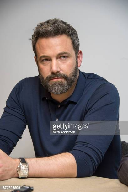 Ben Affleck at the 'Justice League' Press Conference at The Rosewood Hotel on November 4 2017 in London England