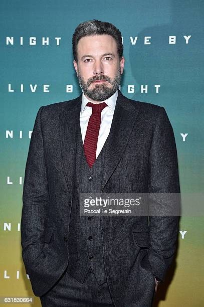 Ben Affleck attends 'Live by Night' Premiere at Cinema UGC Normandie on January 16 2017 in Paris France