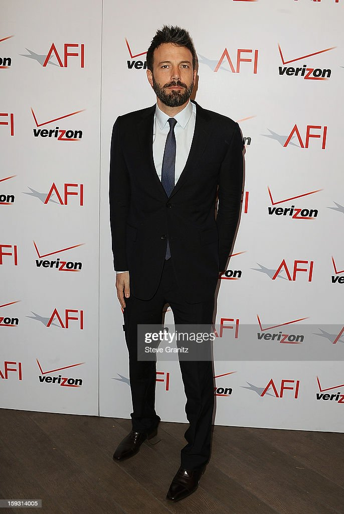 Ben Affleck attends the 13th Annual AFI Awards Luncheon at the Four Seasons Hotel Los Angeles at Beverly Hills on January 11, 2013 in Beverly Hills, California.