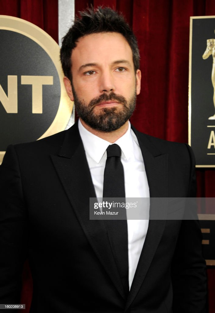 Ben Affleck attends the 19th Annual Screen Actors Guild Awards at The Shrine Auditorium on January 27, 2013 in Los Angeles, California. (Photo by Kevin Mazur/WireImage) 23116_016_0923.jpg