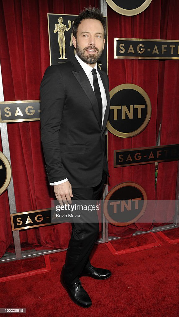 Ben Affleck attends the 19th Annual Screen Actors Guild Awards at The Shrine Auditorium on January 27, 2013 in Los Angeles, California. (Photo by Kevin Mazur/WireImage) 23116_016_0927.jpg